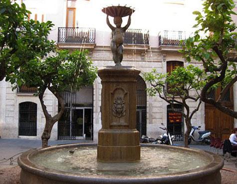 Fuente del negrito en Valencia