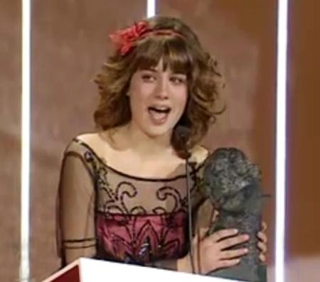 Nerea Camacho premio Goya