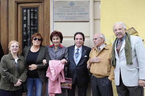 Enrique García Asensio, Marivel del Castillo y amigos.