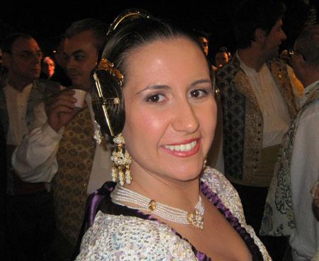 Olga Senach, Fallera Mayor 2010 - Falla Lo Rat Penat