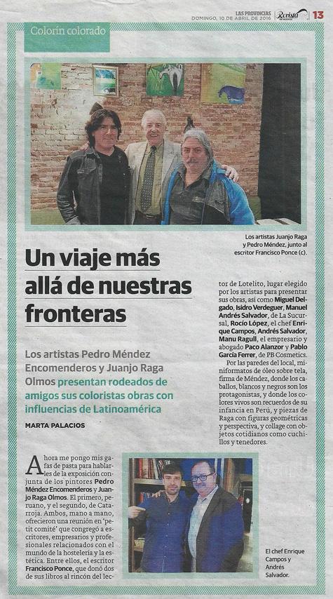 Periódico Las Provincias de Valencia