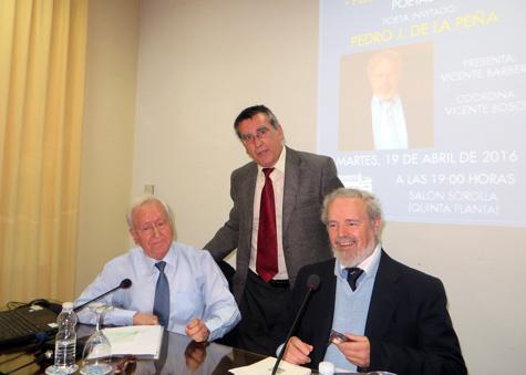 Tres ponentes