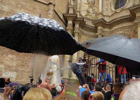 Traslado Virgen Valencia 2016