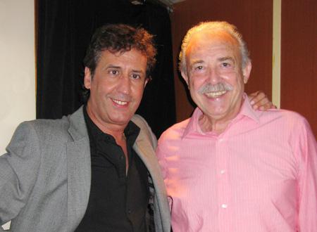Paco Calonge (Humorista) y Francisco Ponce (Escritor)