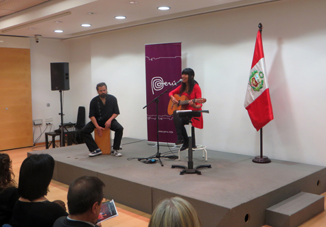 Miryam Quiñones (Cantante Peruana)