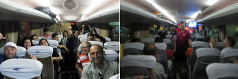 Autobús  aficionados