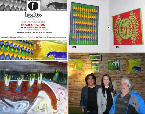 Exposición de pinturas (lotelito)