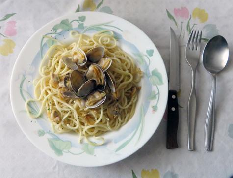 Espagueti Vongole