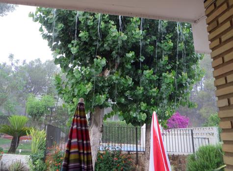 Llueve cantidad