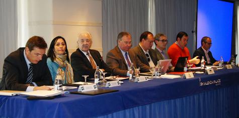 Mesa de directivos AEFA