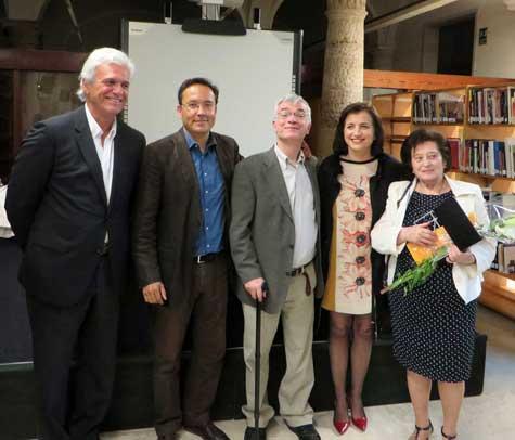 Premiados CLAVE 2015 y Consellera
