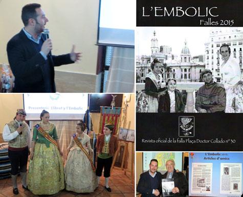Momentos presentación L'Embolic