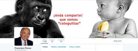 Francisco Ponce en Twitter