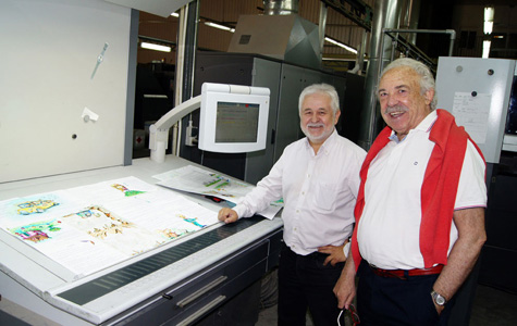 Juan Diaz y Francisco Ponce