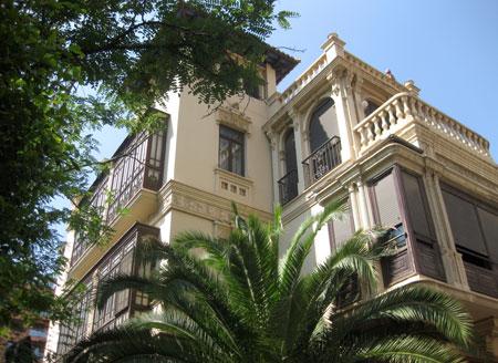 Palacete Avenida del Puerto de Valencia