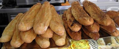 Variedad de 'barras' de pan