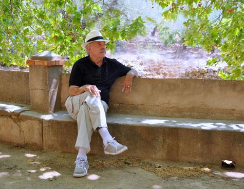 Francisco Ponce (Escritor) en Castellnovo