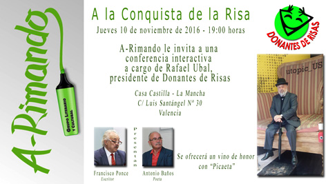 Cartel evento RISA