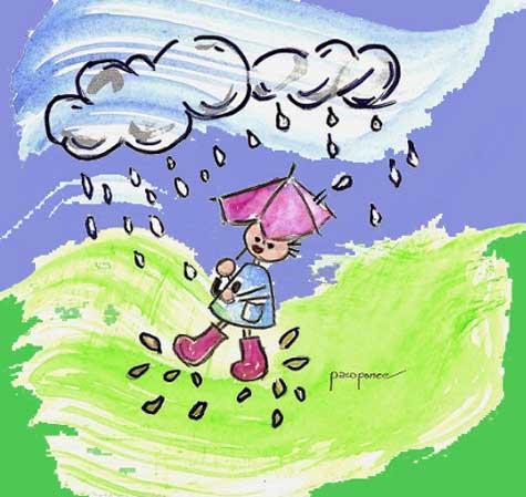 Alegría de la lluvia