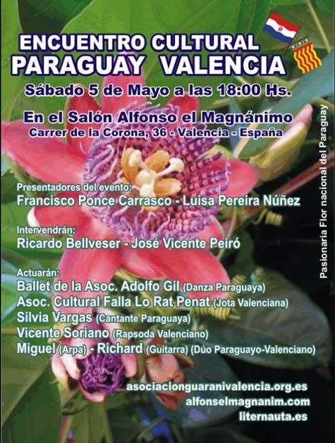 Encuentro Cultural Paraguay-Valencia