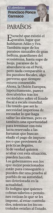 """Paraísos """"El abrelatas"""" de Ponce"""