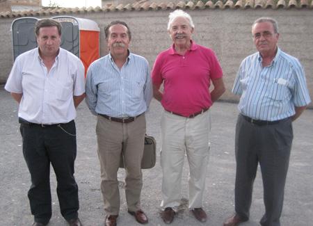 (Juan Paricio 'Asesor taurino' -Jesús Blanco 'Presidente corrida' - Francisco Ponce 'Escritor' -Exoristo Aspas 'Asesor taurino')