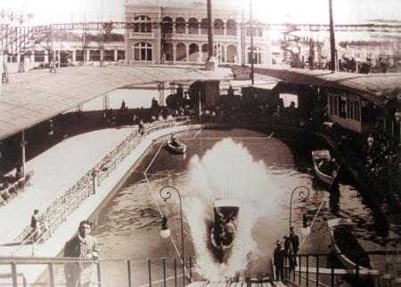 Parque atracciones Exposición 1909 - Valencia