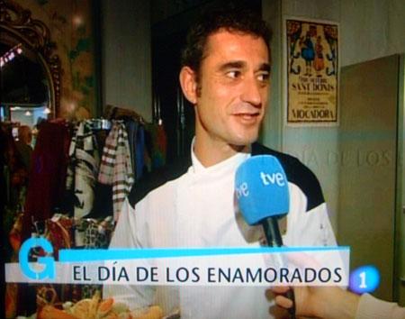 Carlos, maestro pastelero