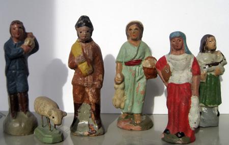 Pastores adoran al Niño Jesús