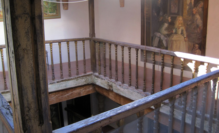 Balcones patio interior - Casa-Atelier - Lietor (Albacete)