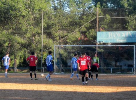 Penalti contra el Castellnovo C.F.
