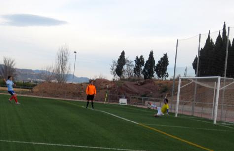 """Gol de """"Penalti"""" conseguido por el U.D. Puig"""