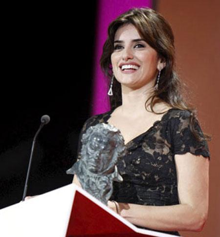 Penelope Cruz (Premio Goya)