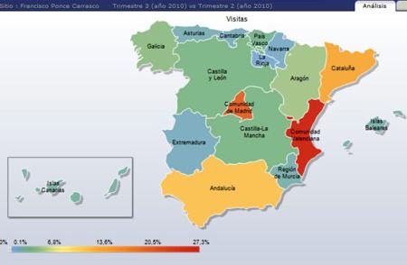 (España por zonas)