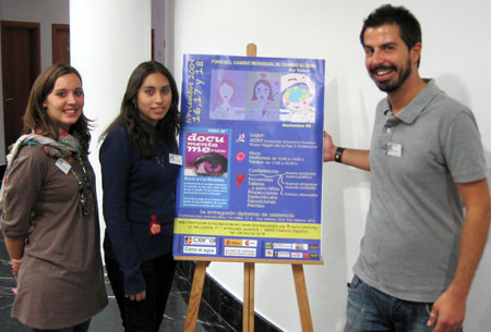 Justine Robin, Oderay Padilla y Antonio de Gemmis