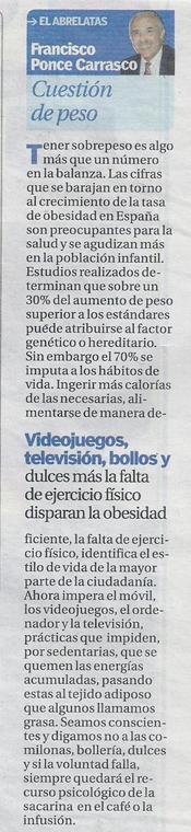 "Columna de prensa ""El Abrelatas"""