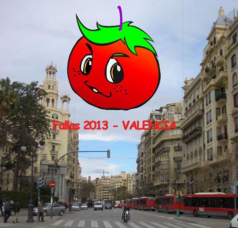 """Aventuras de """"Pichín"""" en Fallas 2013"""
