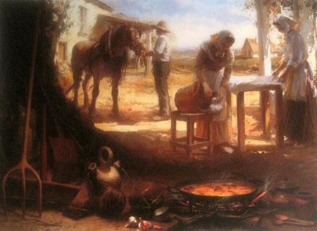 Pintura de Conrado Meseguer - Oleo