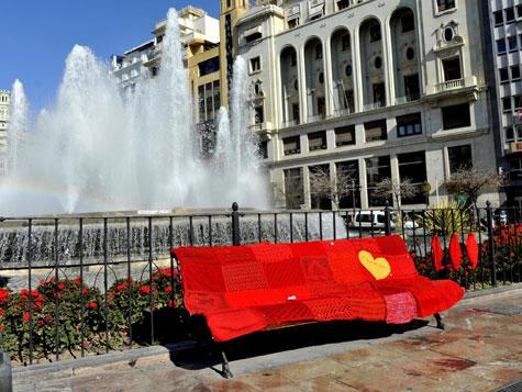 """""""Urban knitting de Valencia"""""""