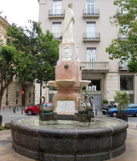 Fuente Plaza de los 'Patos' - Valencia