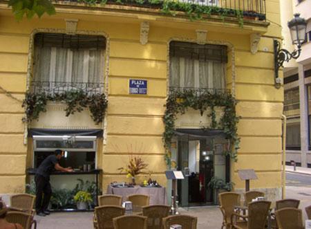 Plaza Rodrigo Botet, prócer valenciano