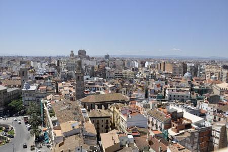 (Vista general de Valencia)