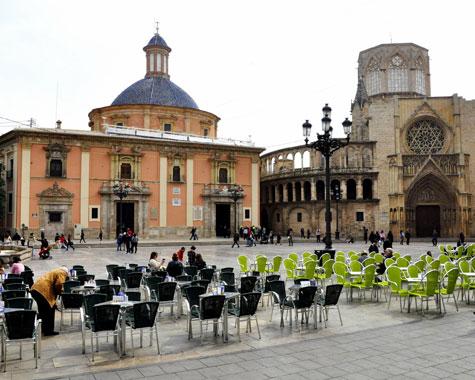 Plaza Virgen Día del Libro