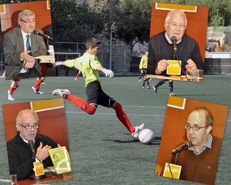 """Ponentes """"Fútbol y Literatura"""""""