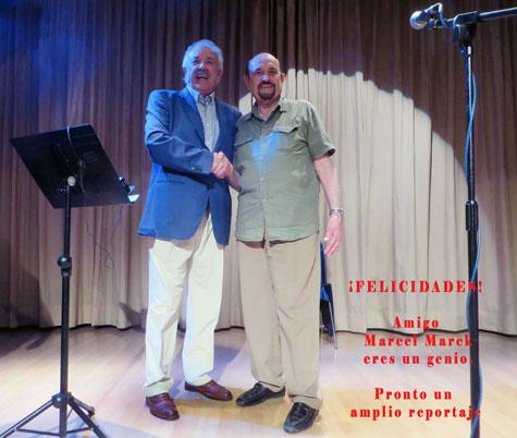 Francisco Ponce y Marcel Marck