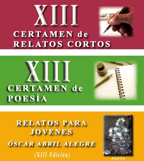 XIII Certamen Literario y Poético de Alfambra 2019