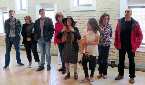 Artistas presentes en la inauguración
