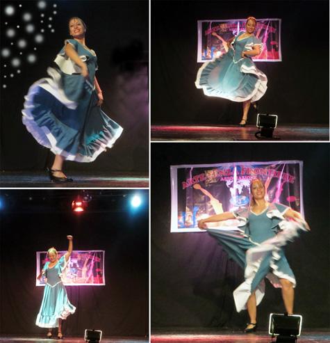 """Momentos del espectáculo """"Bailarines sin fronteras"""""""