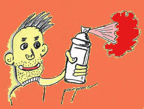 Pintarrajos de Spray
