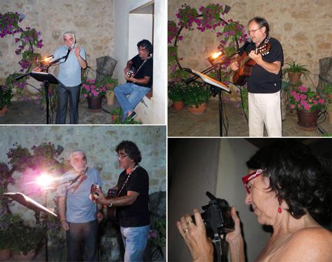 Fin de fiesta con Lucho Roa